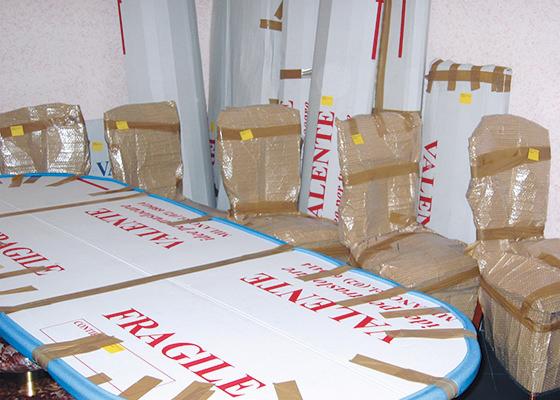 Imballaggi per mobilio ed oggettistica